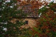 Autumn Montain landskap arkivfoto