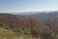 Autumn in the Montains of Western North Carolina Stock Photography