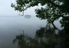 Free Autumn Mood On A Rainy Day At The Great Ploen Lake Stock Photo - 92038920