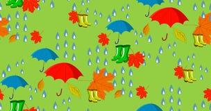 Autumn mood vector illustration