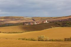 Autumn in Moravia. Czech Republic Royalty Free Stock Photos