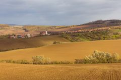 Autumn in Moravia. Czech Republic Royalty Free Stock Photo
