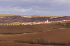 Autumn in Moravia Royalty Free Stock Photos