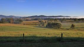 Autumn morning in Australia Stock Photo