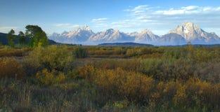 Autumn Morning, The Tetons Royalty Free Stock Photography
