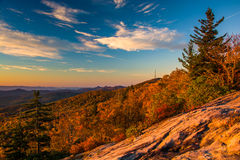 Autumn morning view from Beacon Heights Stock Photography