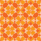 Autumn mosaic. Abstract seamless pattern. Colorful geometric ornament Stock Image