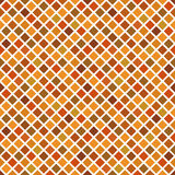 Autumn mosaic seamless pattern Stock Image