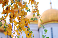Autumn in Moscow Kremlin Stock Images