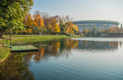 Autumn in  Moscow parks, Russia Stock Photo