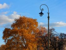 Autumn in Moscow. A sunny warm day in september, Moscow Royalty Free Stock Images