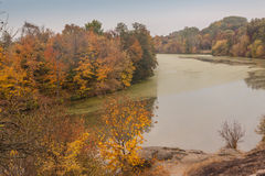 Autumn   on  Mount Paly near river Ros  in Alexandria park,  Bel Stock Photography
