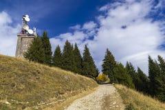 Autumn in mountain Stock Photography