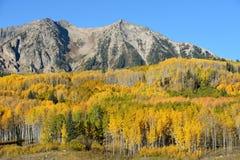 Autumn Mountain stock photo