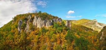 Autumn in mountain. Royalty Free Stock Image