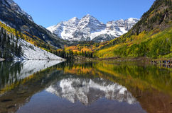 Autumn Mountain Lake Royalty Free Stock Photos