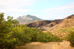 Autumn mountain landscape. Stock Images