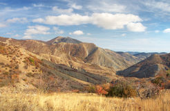 Autumn mountain landscape Royalty Free Stock Images