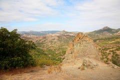 Autumn mountain landscape. Royalty Free Stock Image