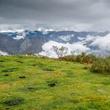 Autumn mountain landscape. In Asturias, northern Spain Royalty Free Stock Photography