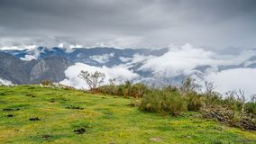 Autumn mountain landscape. In Asturias, northern Spain Stock Photos