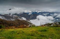 Autumn mountain landscape. In Asturias, northern Spain Stock Photo