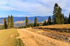 Autumn mountain landscape Royalty Free Stock Photography