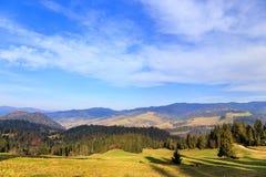 Autumn mountain landscape Stock Photos