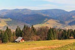 Autumn mountain landscape Royalty Free Stock Photos