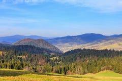 Autumn mountain landscape Stock Photo