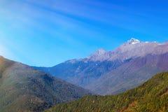 Autumn mountain landscape, Krasnaya Polyana, Sochi Stock Photography