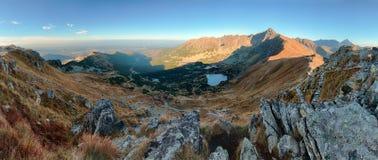 Autumn mountain landscape in Poland Tatras Stock Photography