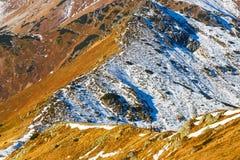 Autumn mountain landscape, Tatras Mountain Stock Photo