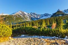 Autumn mountain landscape, Tatras Mountain Royalty Free Stock Photos