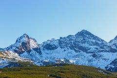 Autumn mountain landscape, Tatras Mountain Royalty Free Stock Image