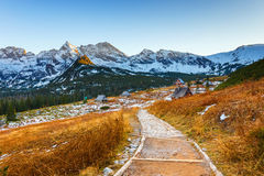 Autumn mountain landscape, Tatras Mountain Stock Photos