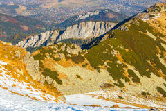 Autumn mountain landscape, Tatras Mountain Royalty Free Stock Photography