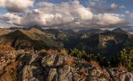 Autumn mountain landscape. Tatry. Beautiful autumn mountain landscape. Tatry royalty free stock photography