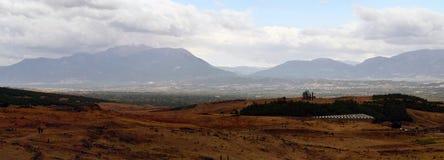 Autumn Mountain panorama Royalty Free Stock Photos