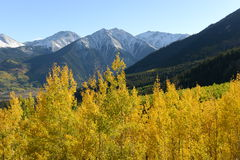 Autumn Mountain Peaks Royalty Free Stock Images