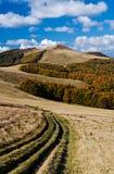 Autumn mountain range Royalty Free Stock Photo