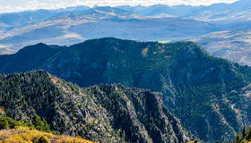 Autumn Mountain Ranges Stock Photography