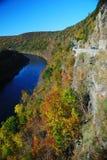 Autumn Mountain River Stock Images