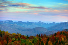 Autumn mountain Royalty Free Stock Photos
