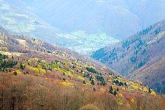 Autumn mountain view Royalty Free Stock Photos