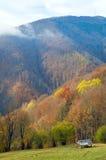 Autumn mountain view Stock Photos