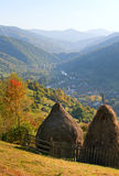 Autumn mountain view Royalty Free Stock Photo