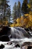 Autumn Mountain Waterfall Royalty Free Stock Photo