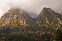 Autumn in the mountains Royalty Free Stock Photo