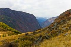Autumn mountains Stock Photos